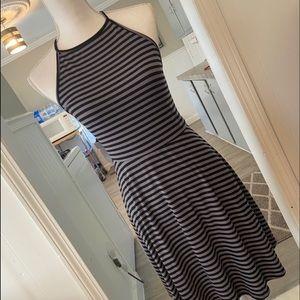 ❗️Striped halter top dress